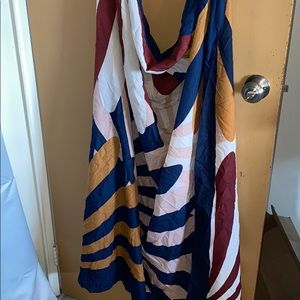 H&M Long silk scarf